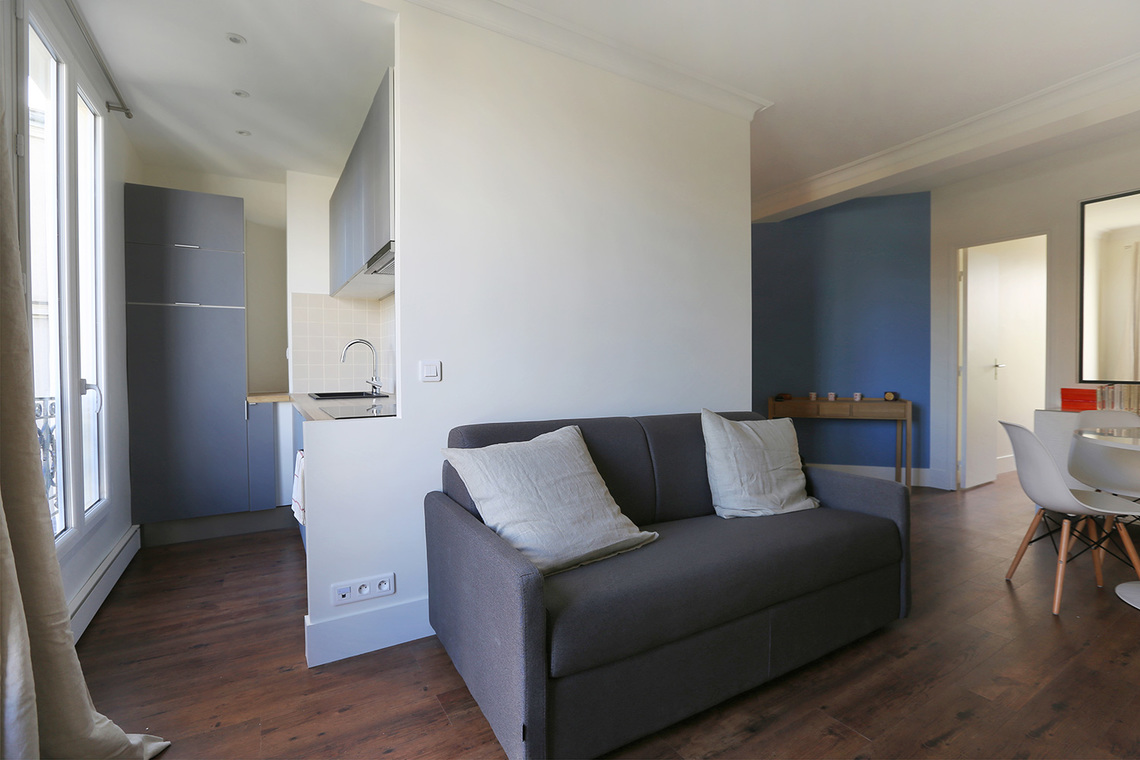 Apartment Paris Rue Caulaincourt 2