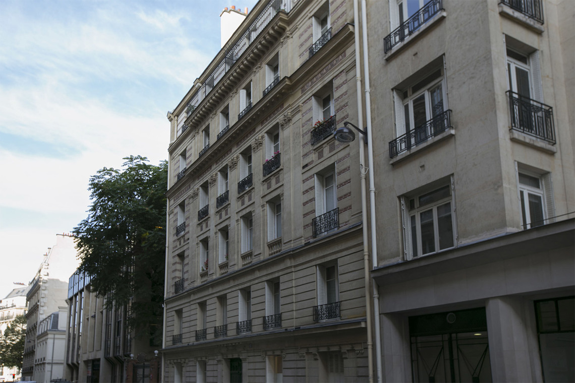 Appartement Paris Rue Pergolèse 15