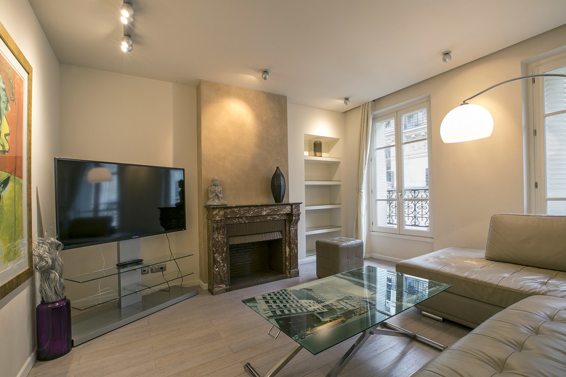 Appartement Paris Rue Pergolèse 2
