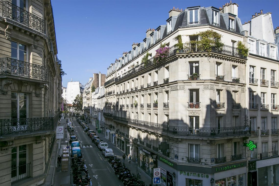 Apartment Paris Rue Saint Denis 10