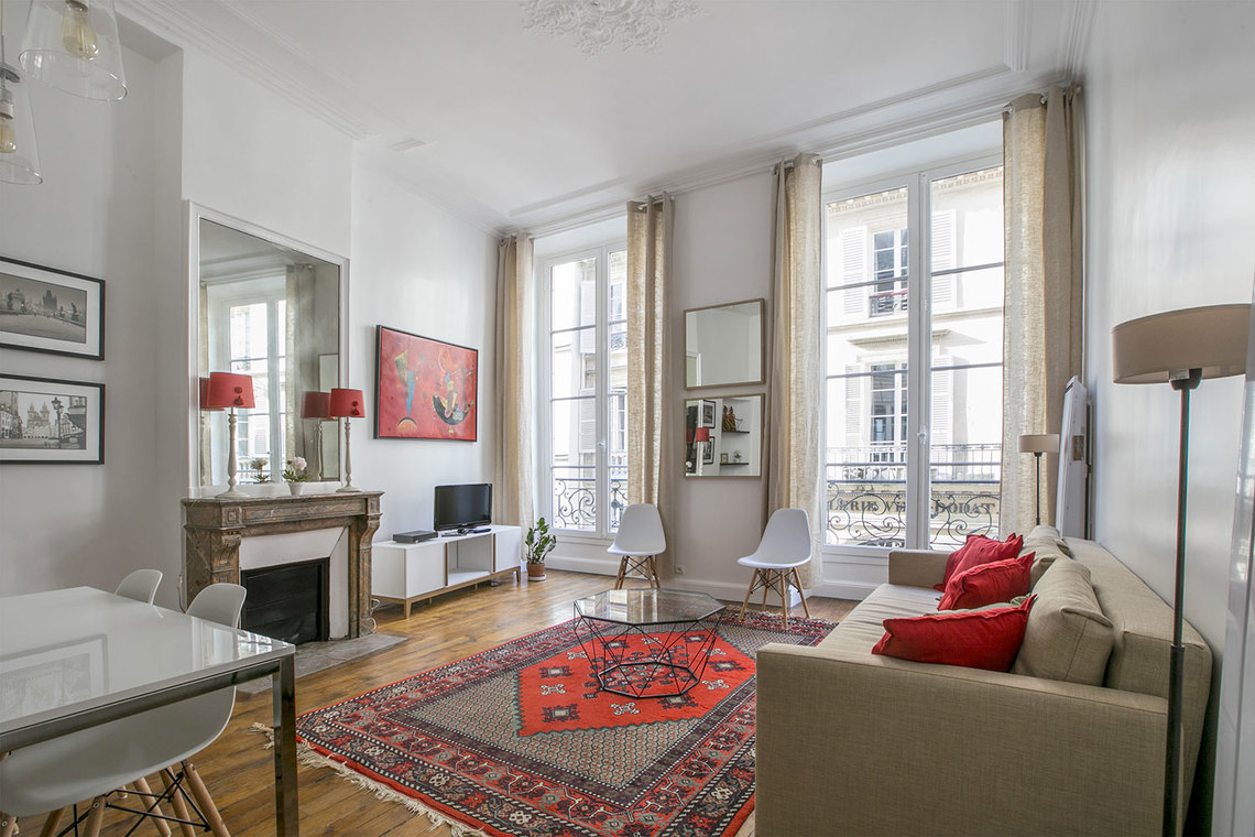 Location appartement meubl rue jean jacques rousseau - Migliore esposizione casa ...