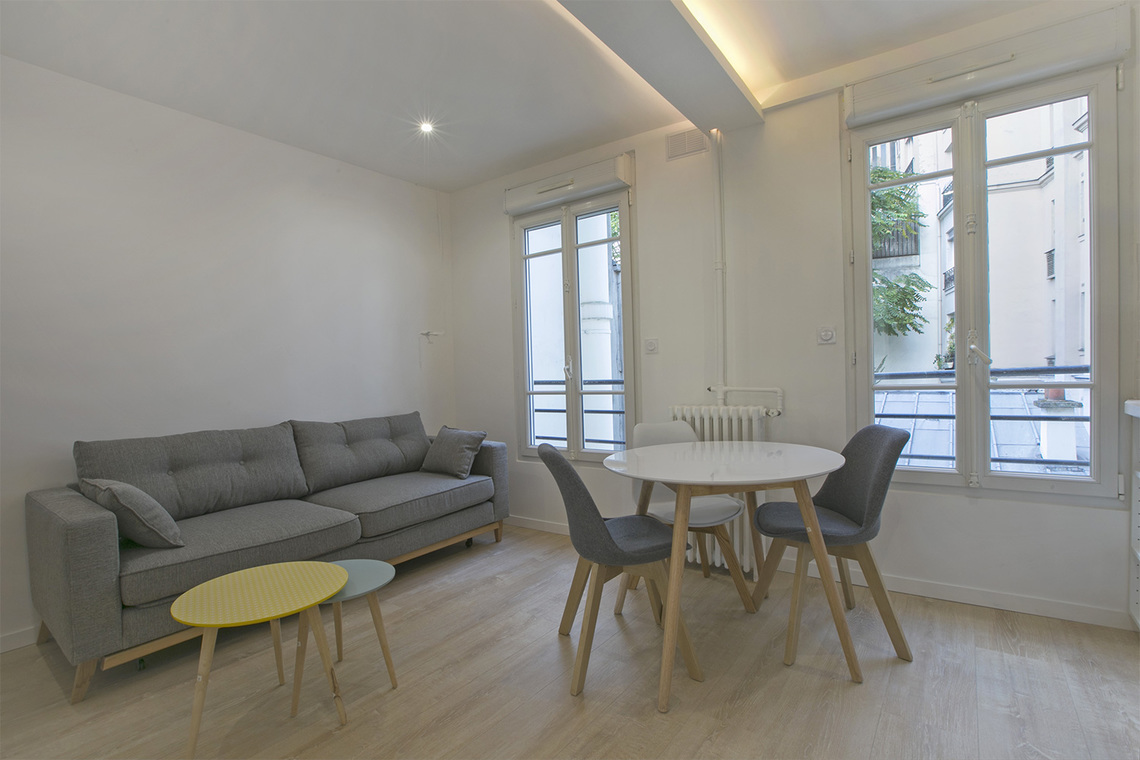 Furnished apartment for rent Paris Rue Bachelet