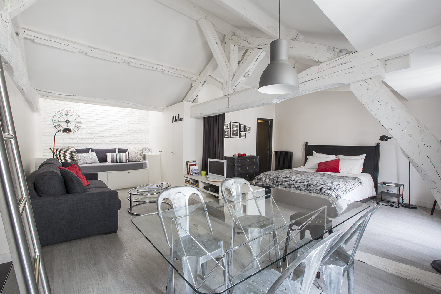 Apartment Paris quai des Grands Augustins