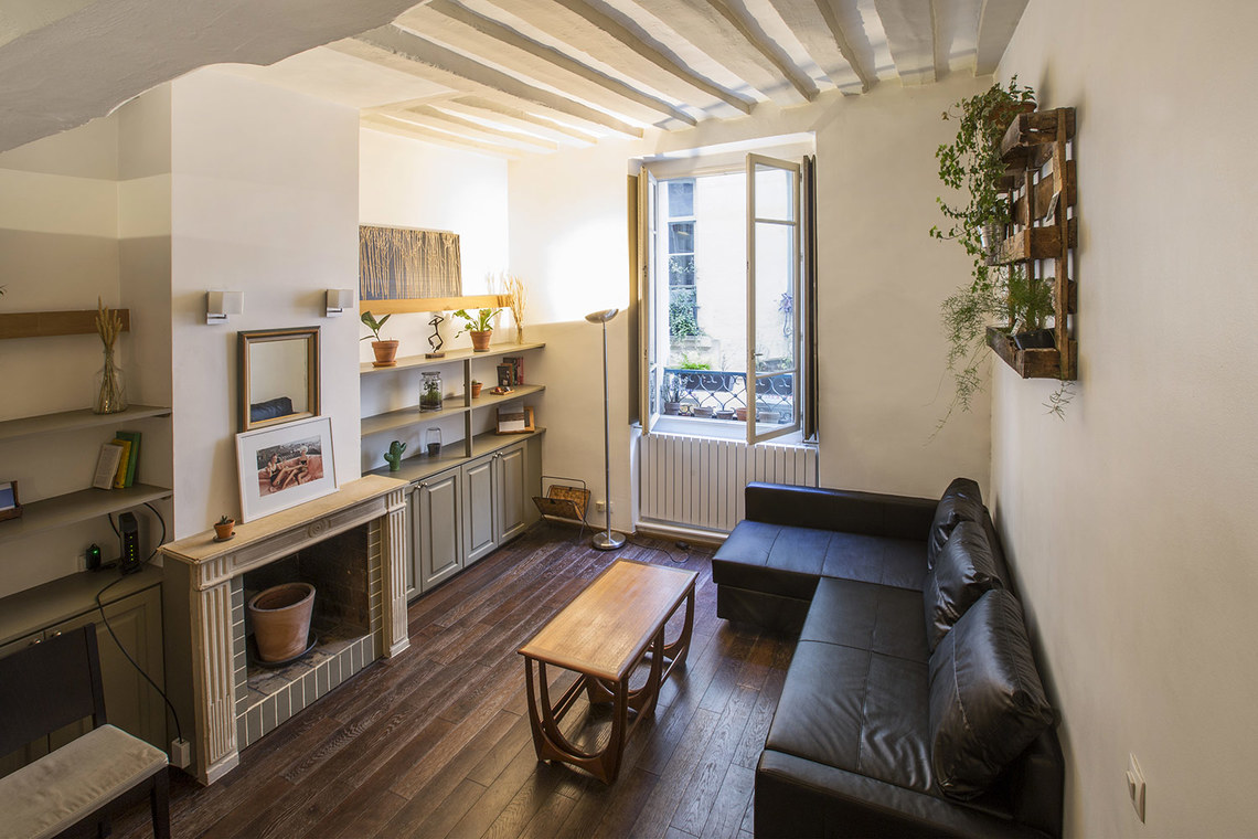 Furnished apartment for rent Paris Rue des Gravilliers
