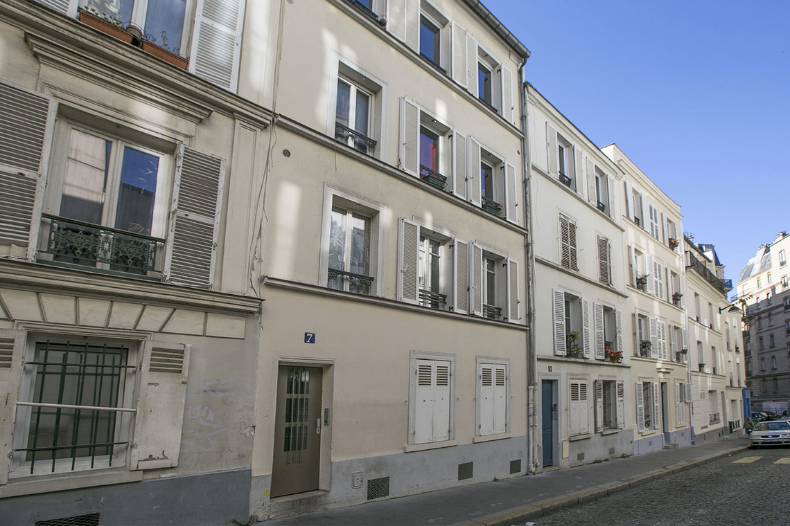 Appartement Paris Rue Lambert 12