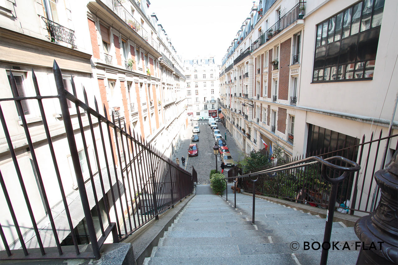 Appartement Paris Rue Cyrano de Bergerac 14
