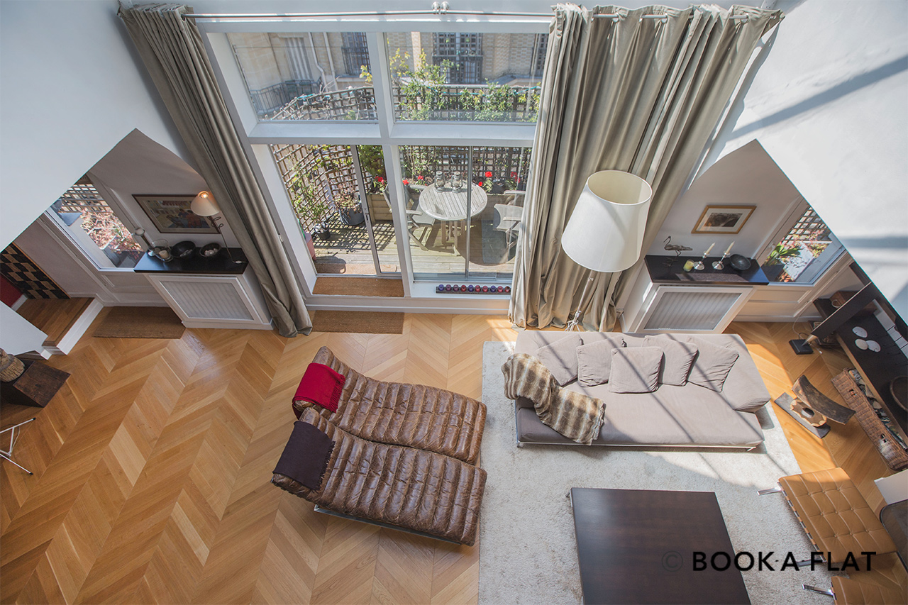 Furnished apartment for rent Paris Rue Charles Dickens