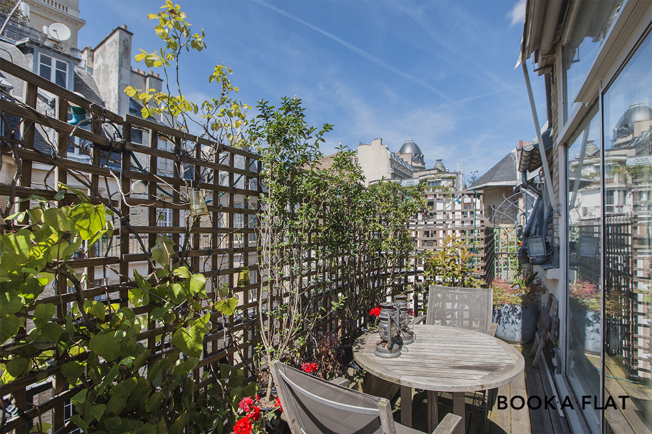 Appartement Paris Rue Charles Dickens 14