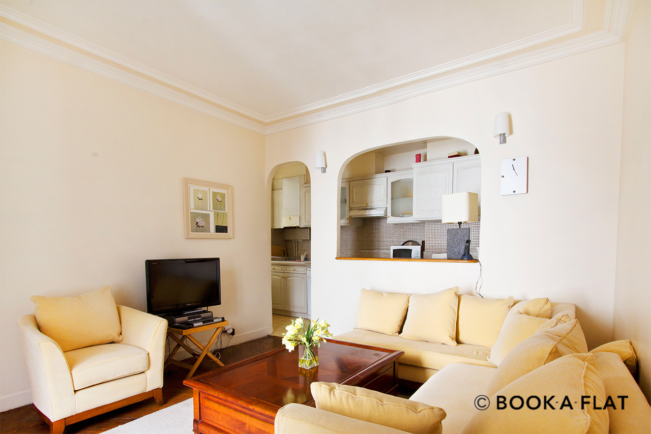 Furnished apartment for rent Paris Rue Vignon