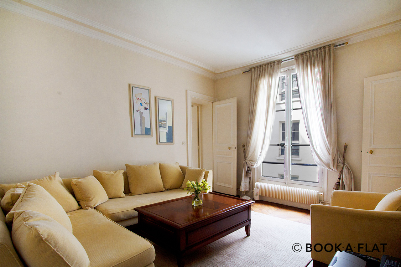 Appartement Paris Rue Vignon 2