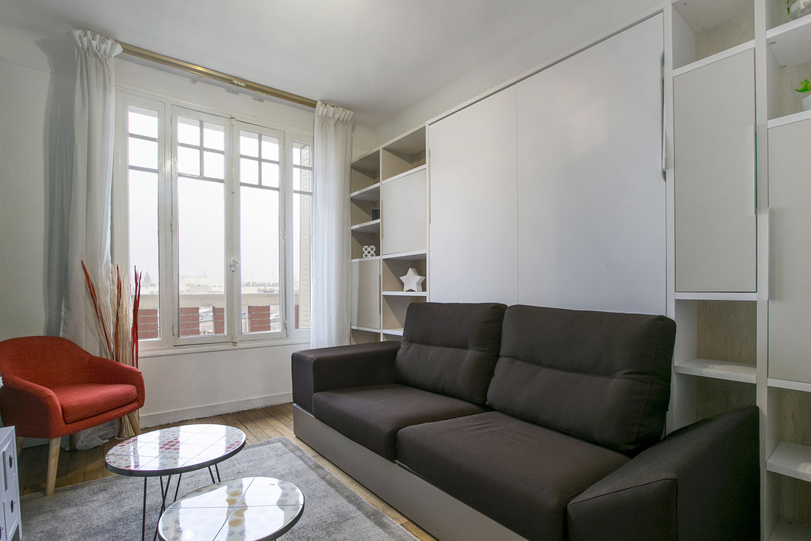 Furnished apartment for rent Paris Rue Etienne Marey