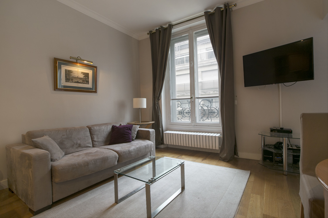 Furnished apartment for rent Paris Rue de Berri
