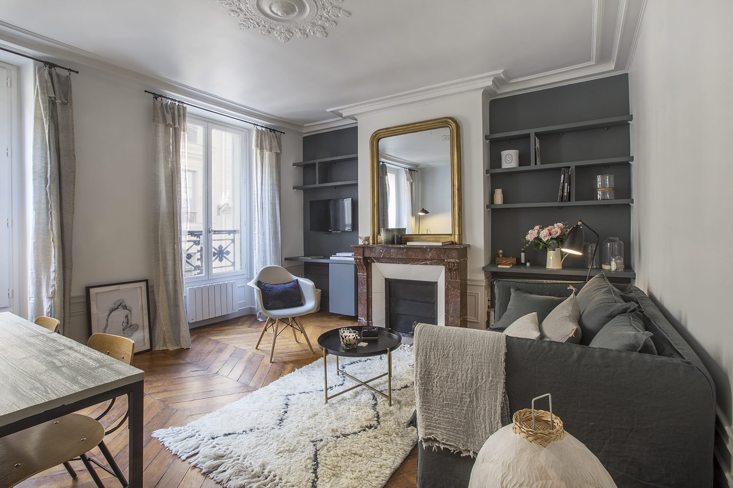 Apartment Paris rue des Mathurins