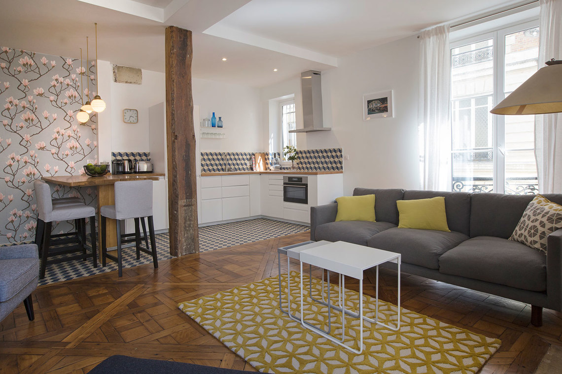Furnished apartment for rent Paris Rue de l'Éperon
