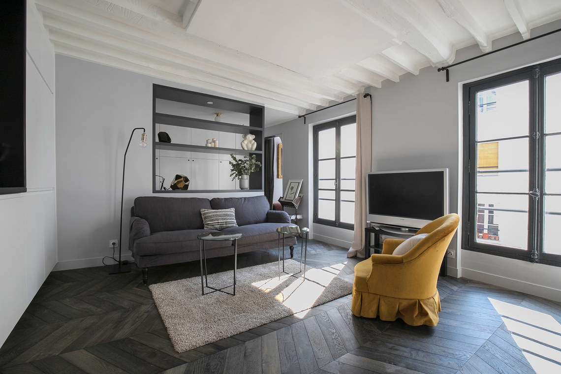 Location appartement meubl rue de seine paris ref 16303 - Location appartement meuble paris ...