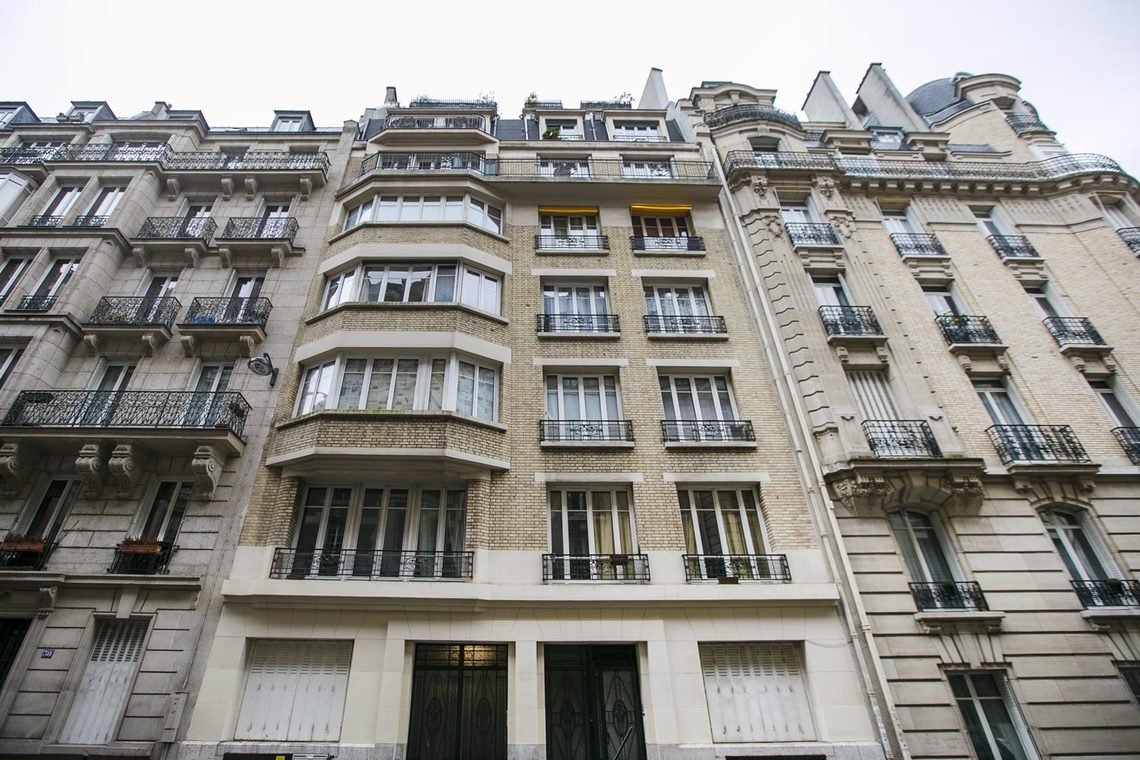 Apartment Paris Rue George Sand 11