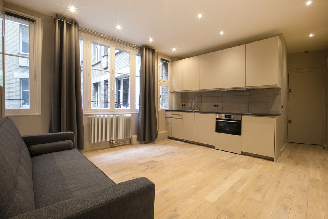 Apartment Paris Rue George Sand 3