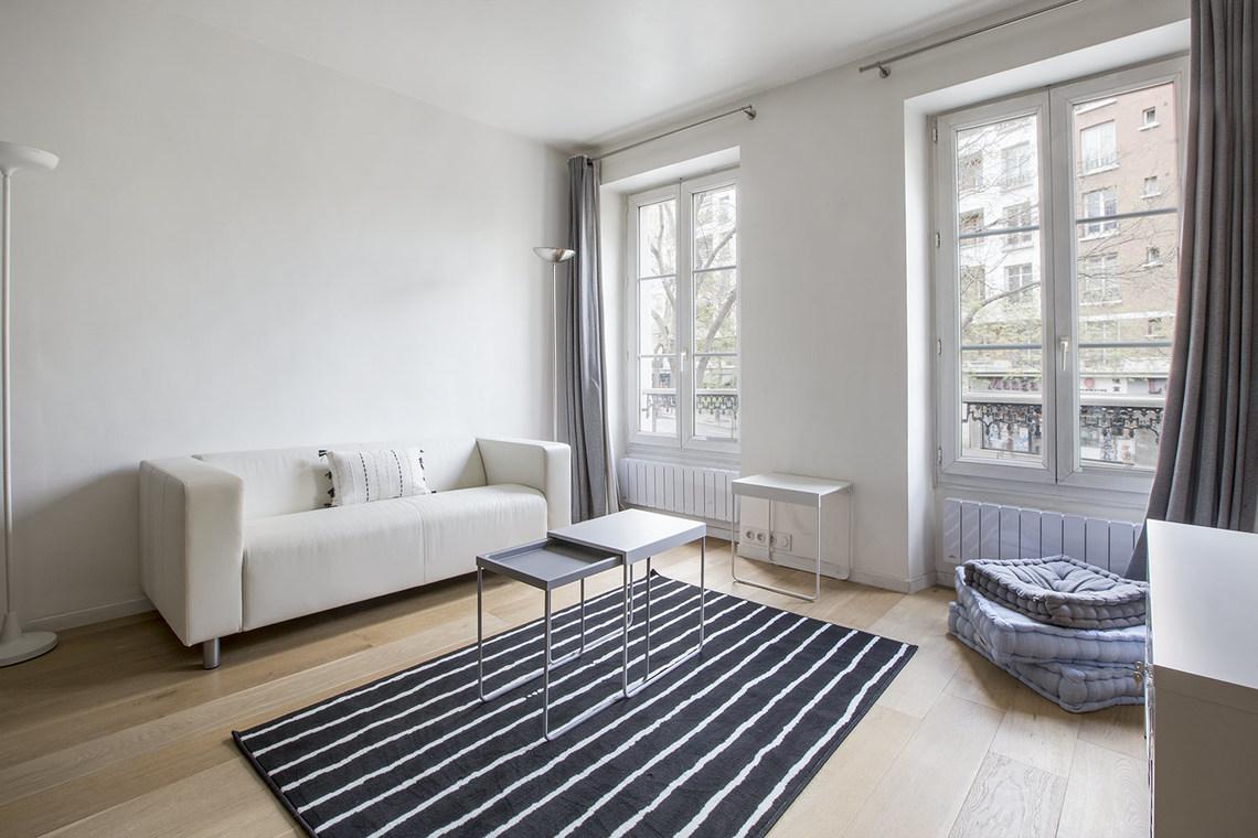 Paris rue de la maison blanche appartement à louer