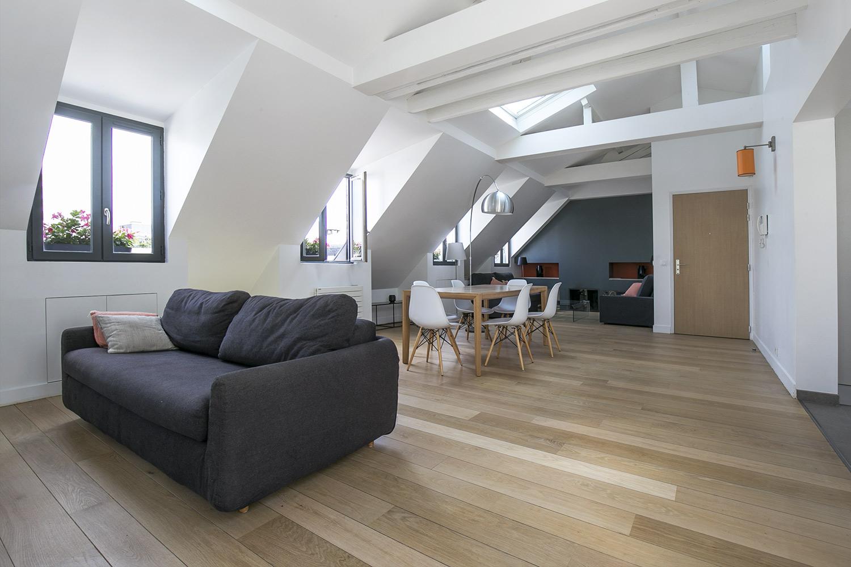 Apartment Paris rue de Madrid