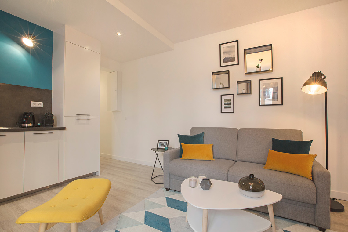 Apartment Paris Rue Saint Maur 2