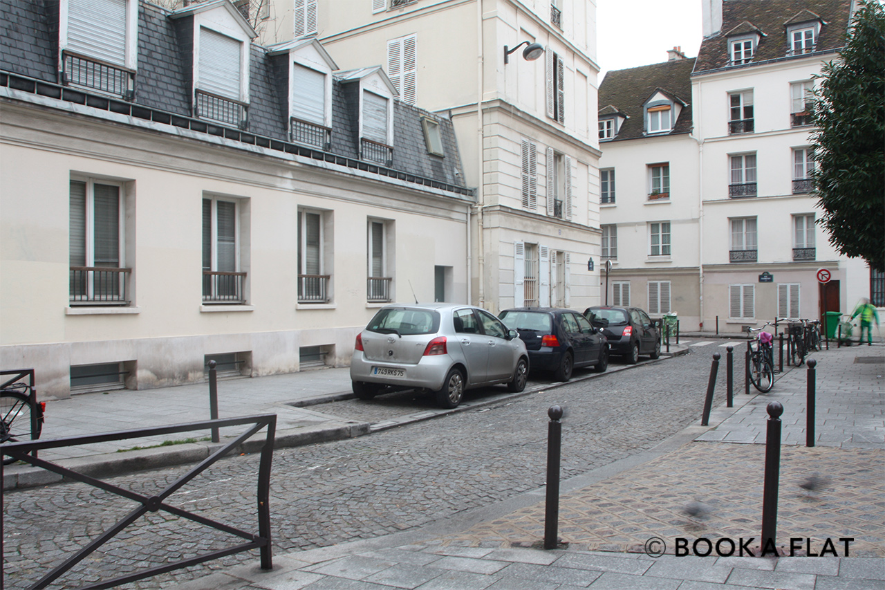 Appartement Paris Rue Amyot 10