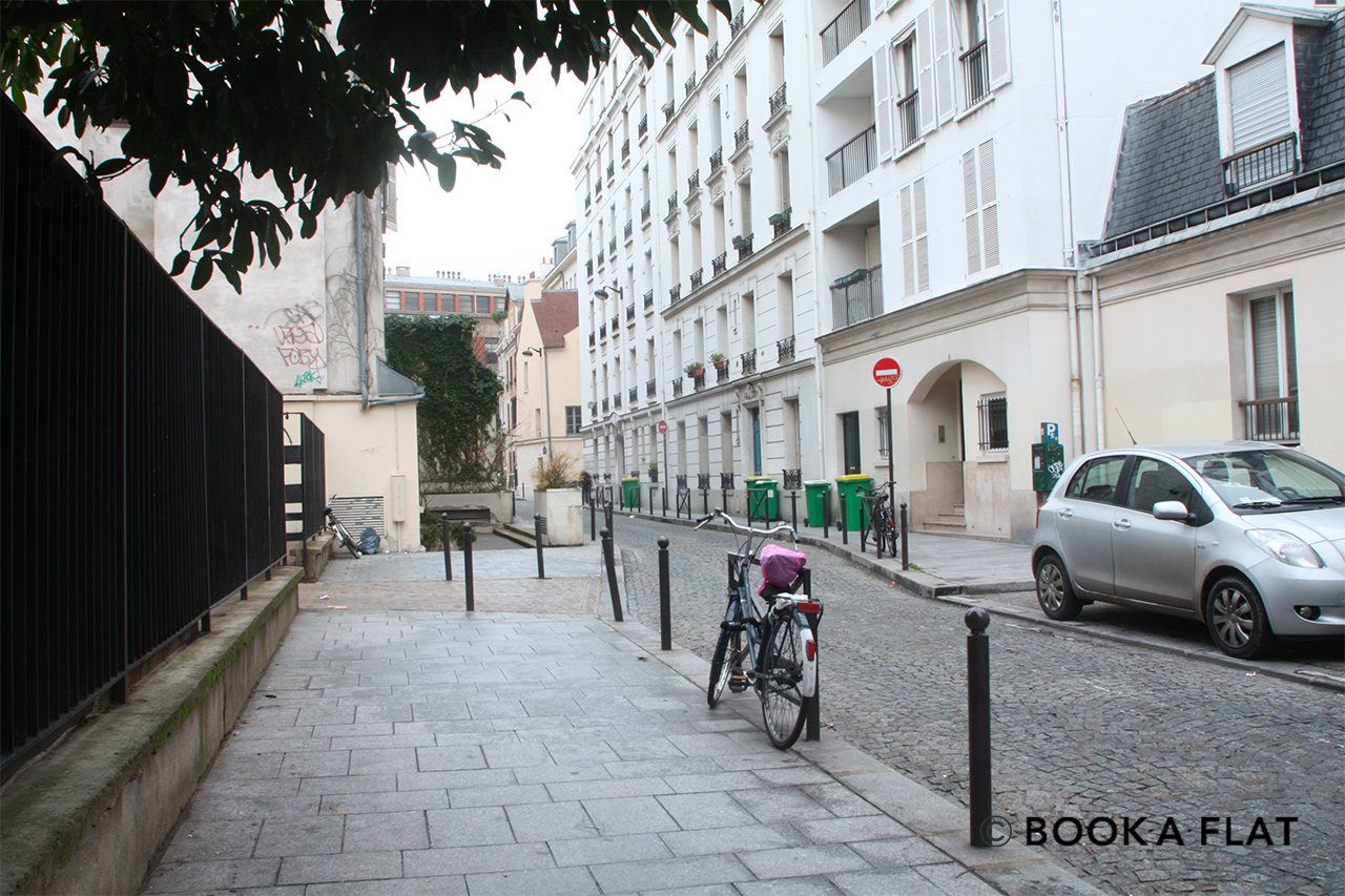 Appartement Paris Rue Amyot 9