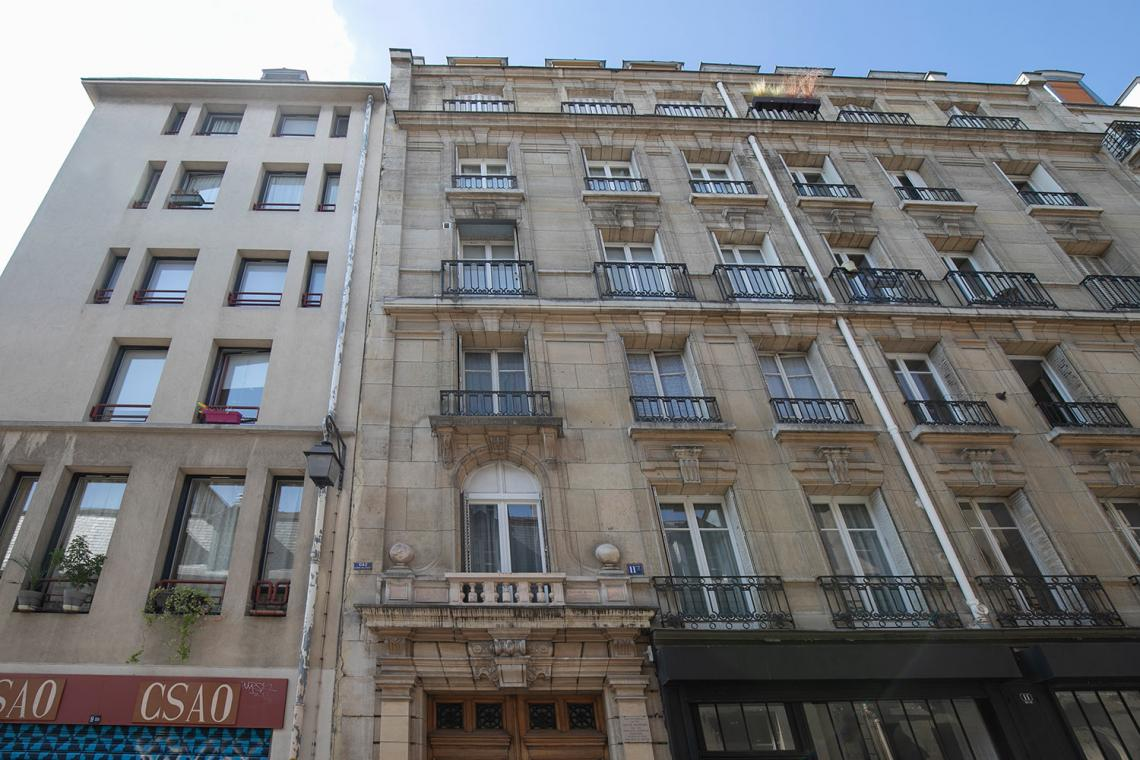 Appartement Paris Rue Elzevir 18