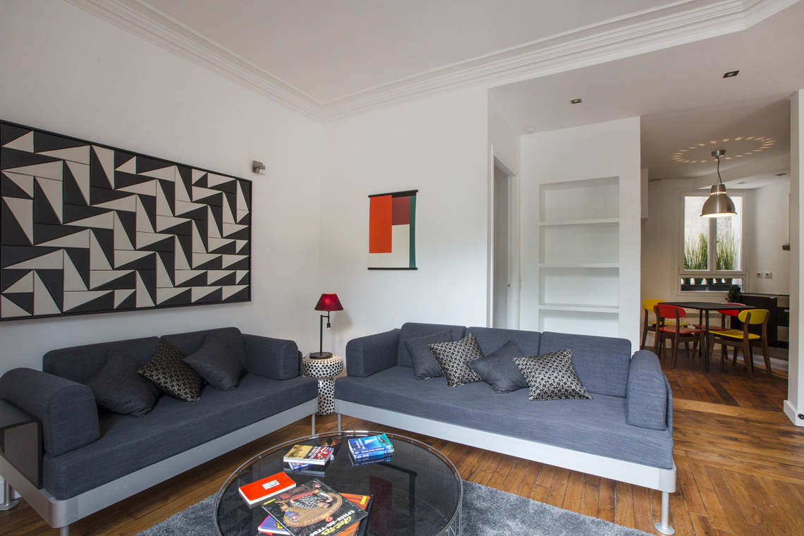 Apartment Paris Boulevard Henri IV 2