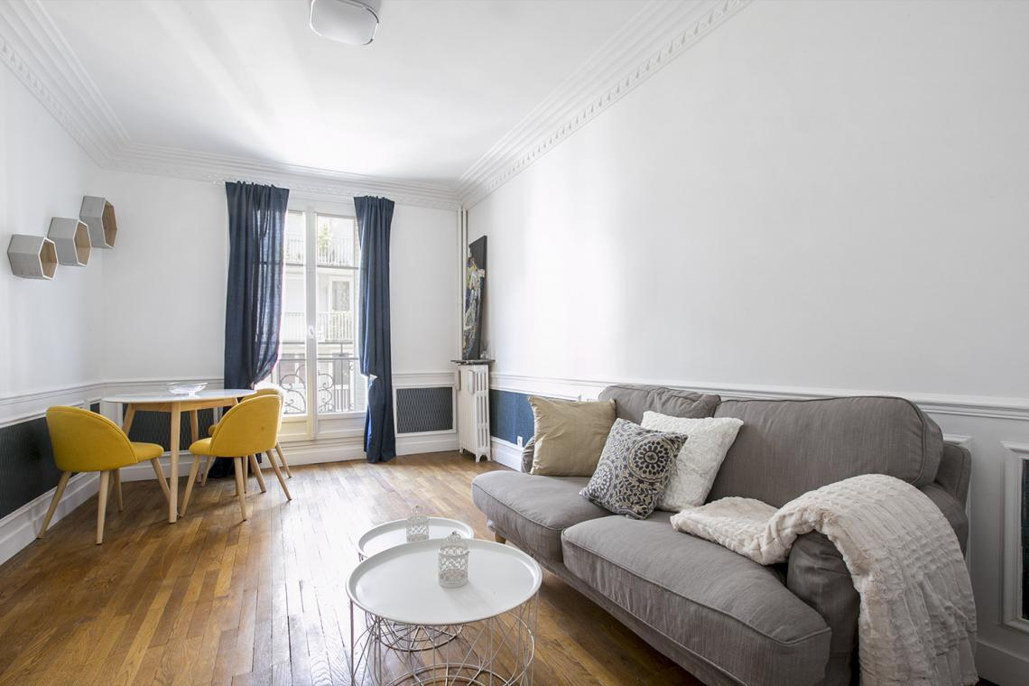 Furnished apartment for rent Paris Rue Charles Fourier