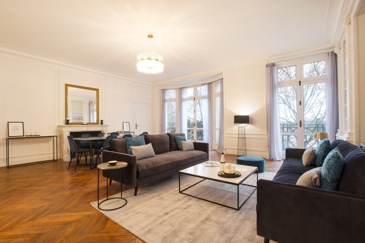 Apartment Paris boulevard Lannes
