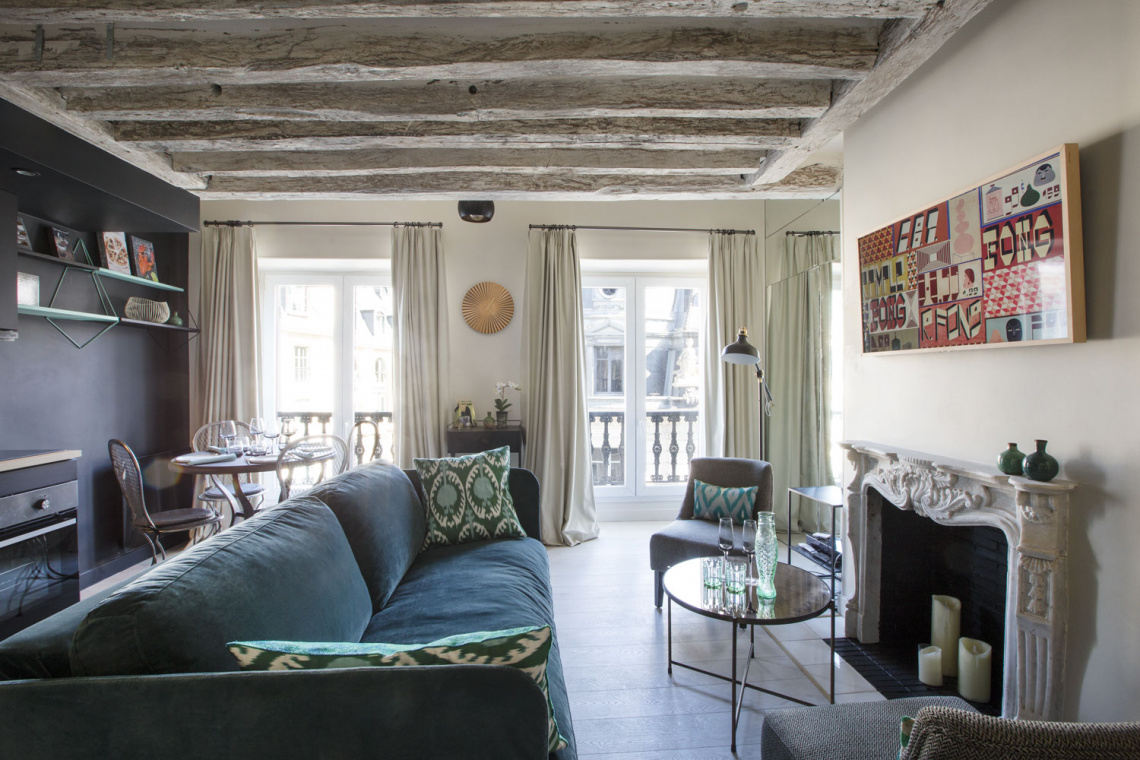 Apartment Paris Rue de Babylone 2