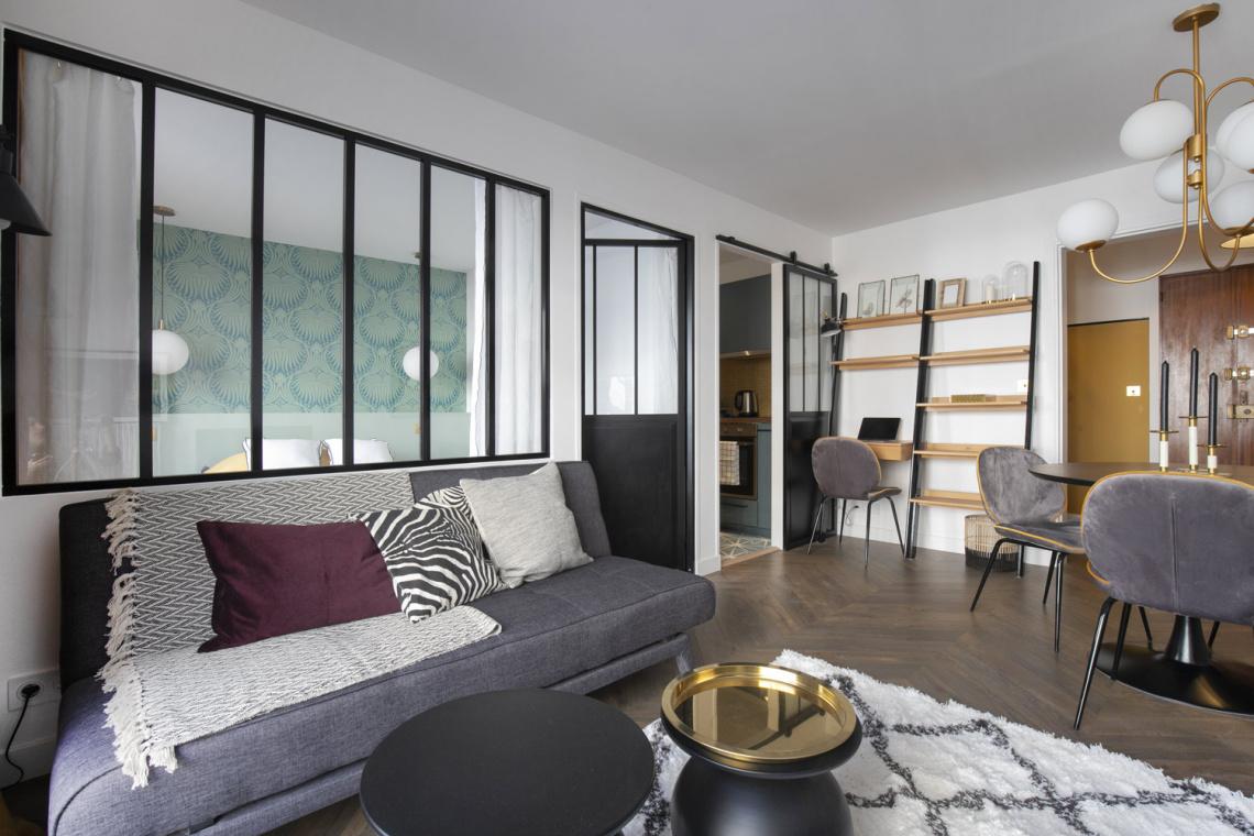 Location Appartement Meublé Rue De La Comète Paris Ref 17243
