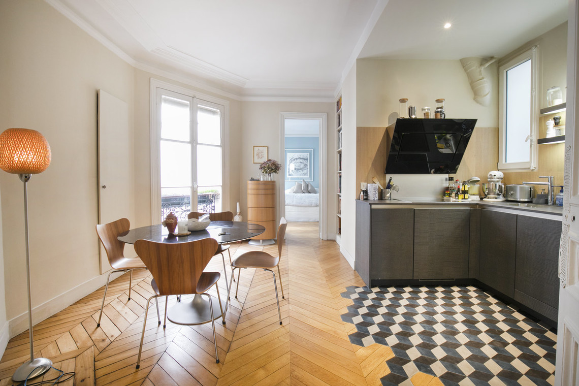 Apartment Paris Rue de Turbigo 5