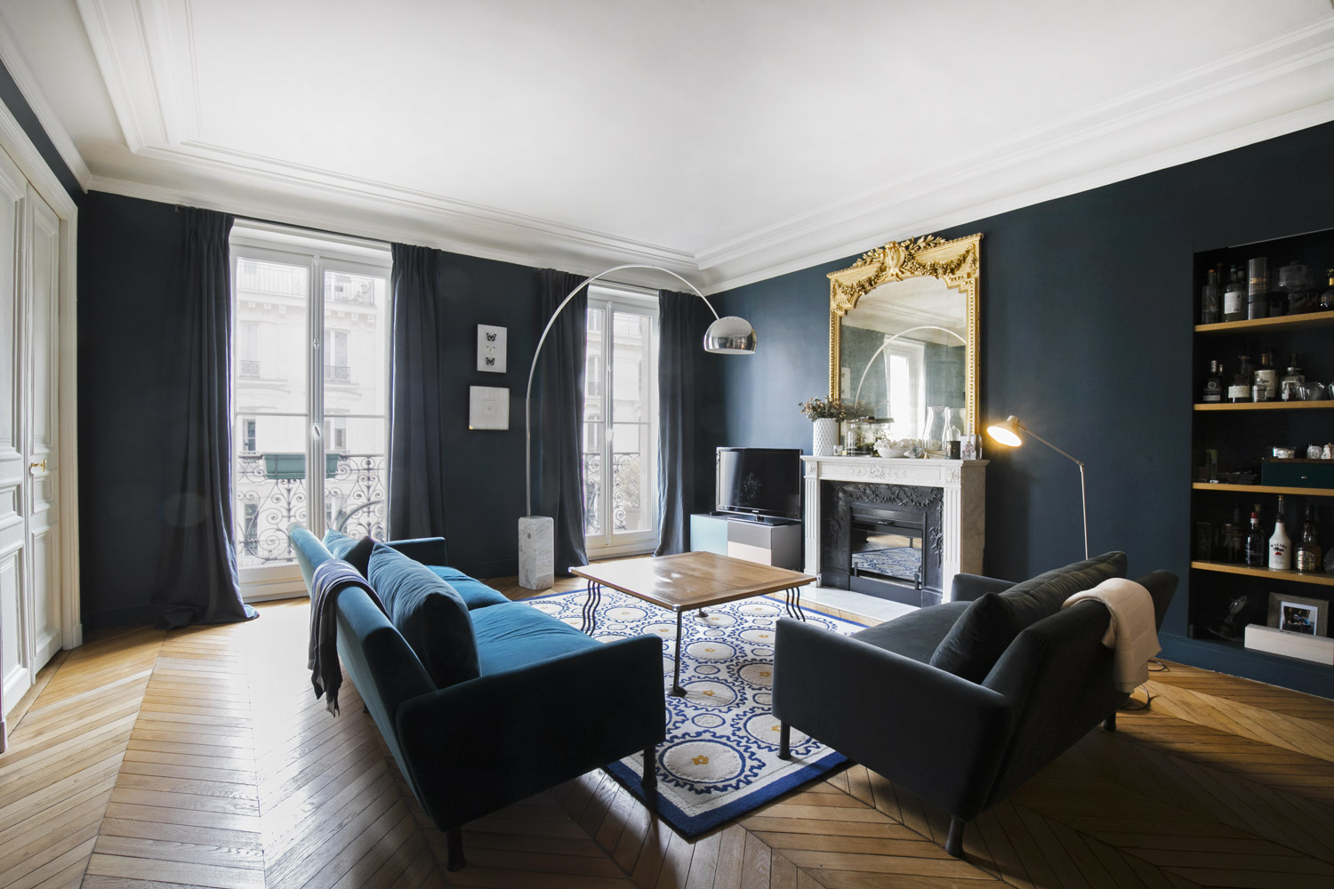 Apartment Paris rue de Turbigo
