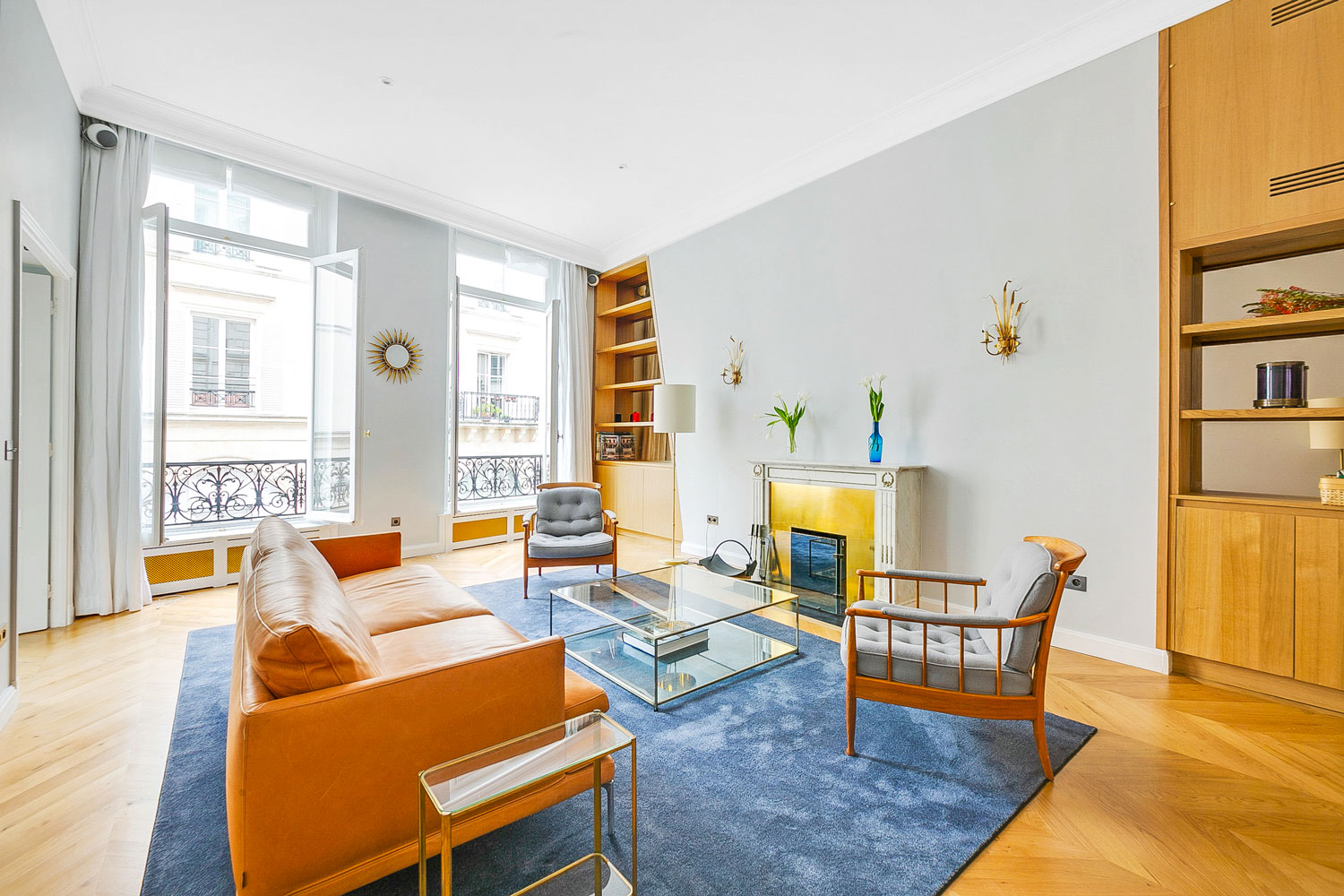 Apartment Paris rue de Seine