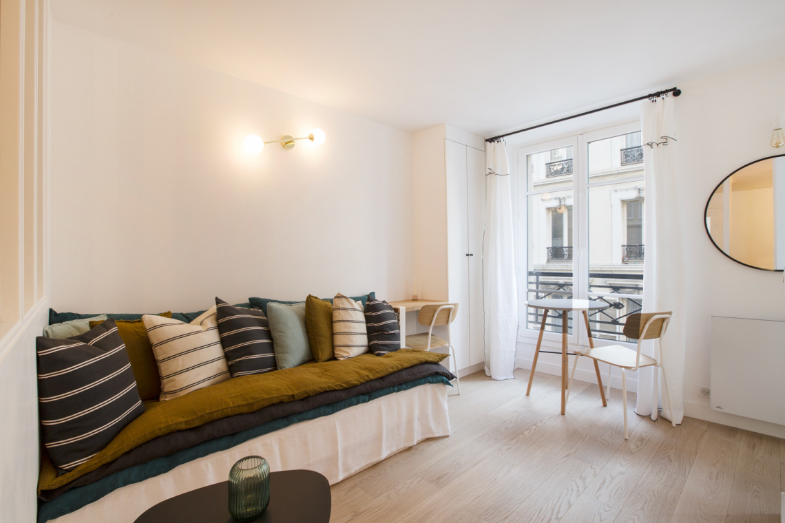 Furnished apartment for rent Paris Rue des Dames