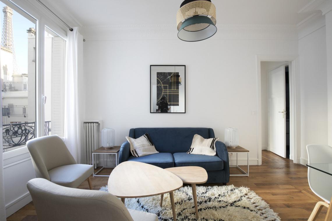 location appartement meubl square de l 39 alboni paris ref 17554. Black Bedroom Furniture Sets. Home Design Ideas