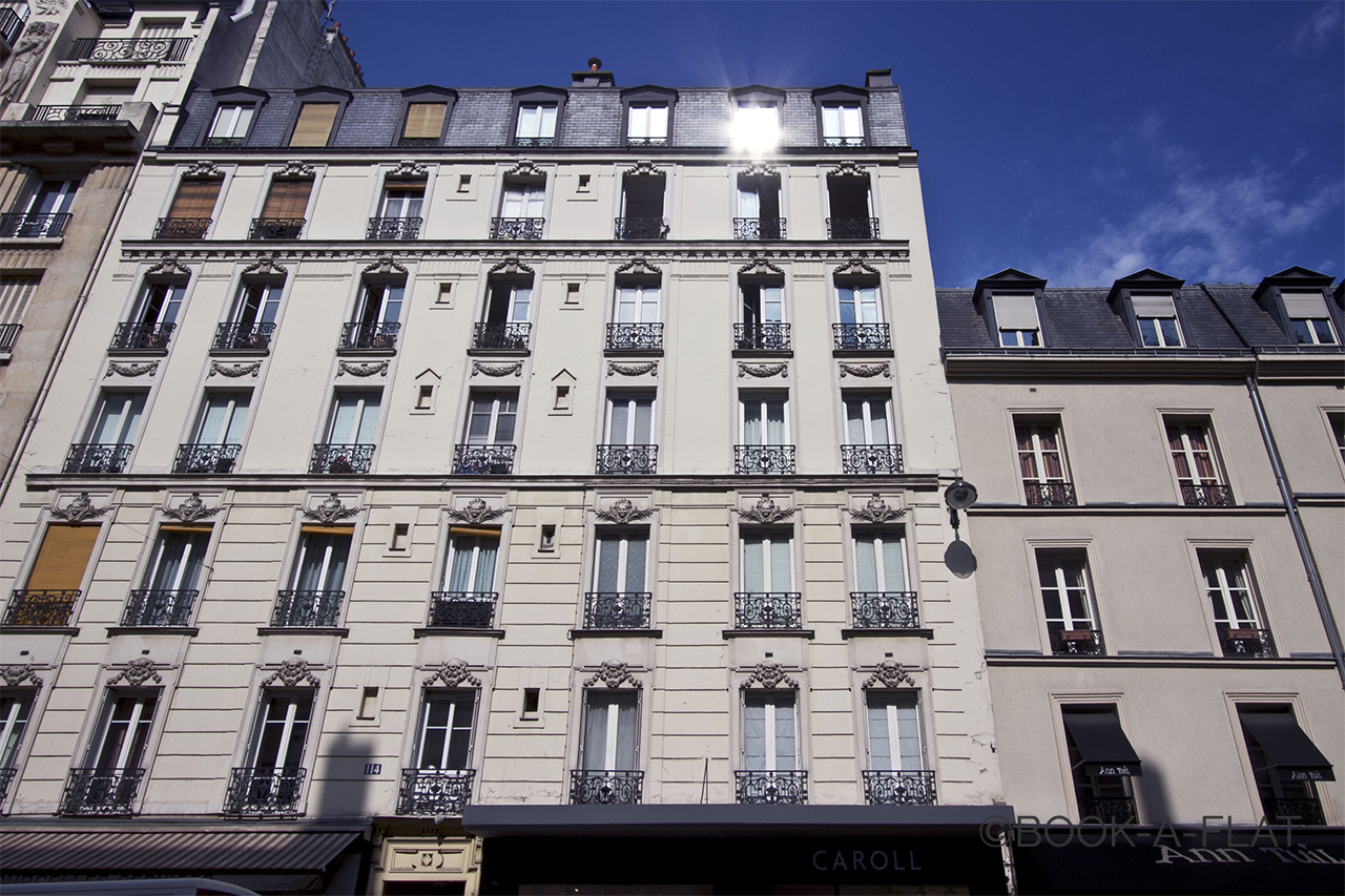 Appartamento Paris Rue de Courcelles 10