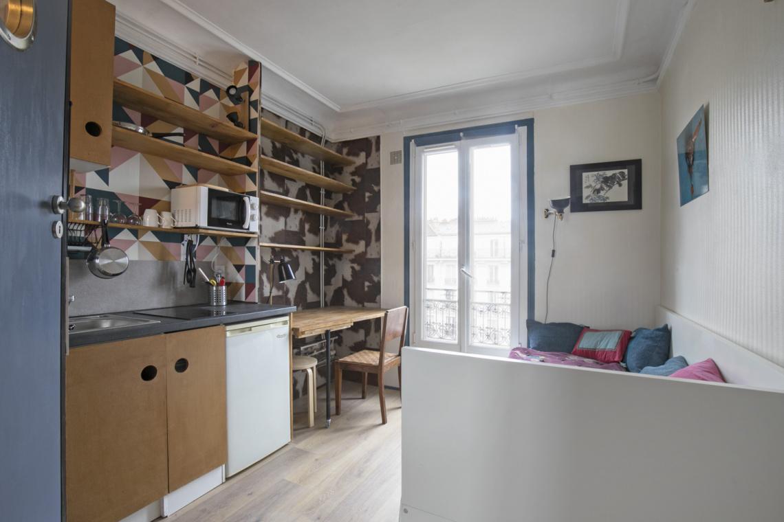 Location Studio Meuble De 11 M2 Avenue De Versailles A Paris