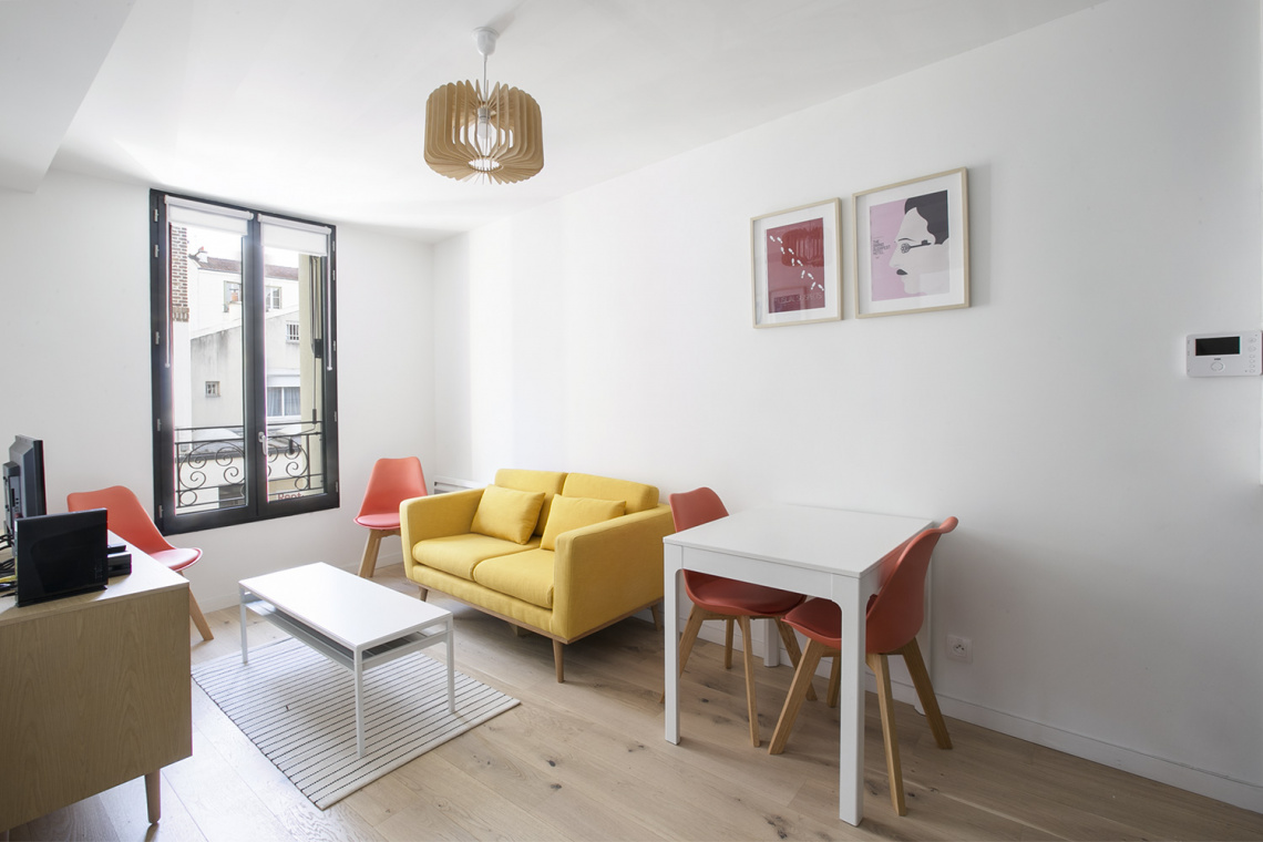 Furnished apartment for rent Boulogne Billancourt Rue de Billancourt