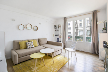 Location Appartement Meuble De 39 M2 Avenue Du General Leclerc A Boulogne Billancourt