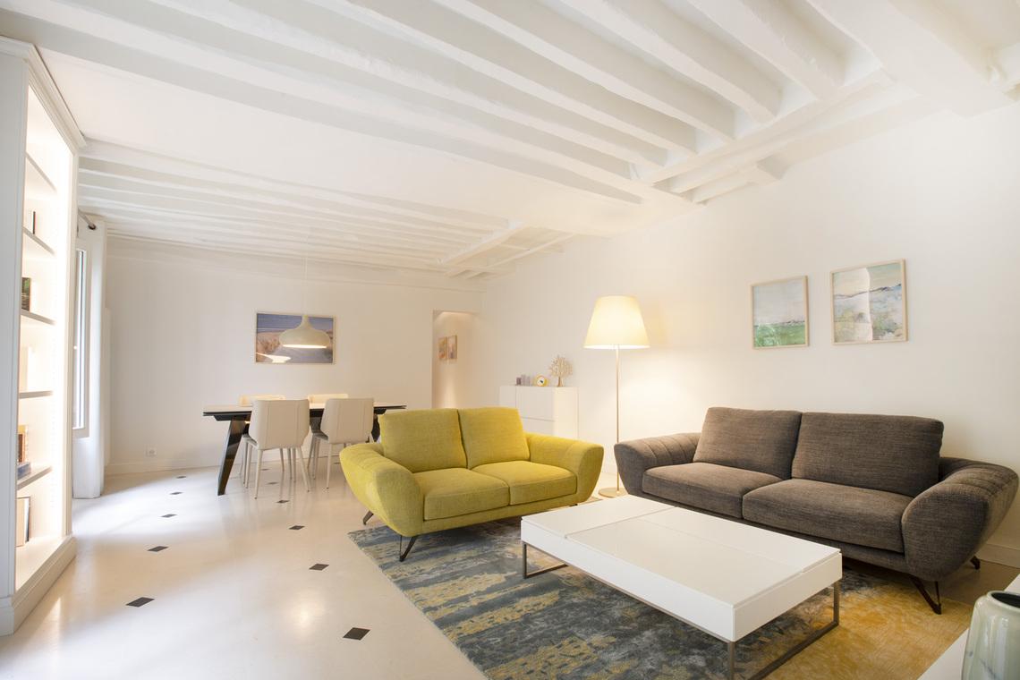 Location appartement meubl de 94 m2 rue des tournelles - Location chambre de bonne paris 16 ...