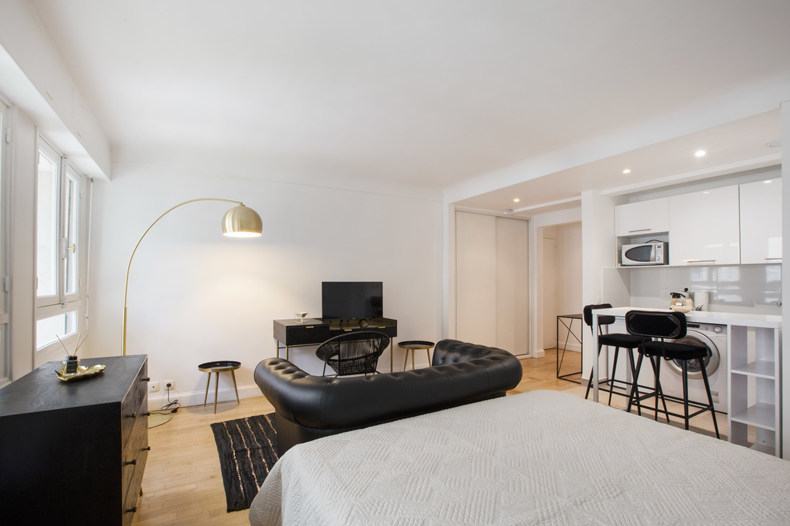 Apartment Paris Avenue de New York 2