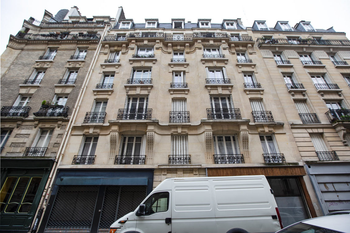 Apartment Paris Rue Duc 17