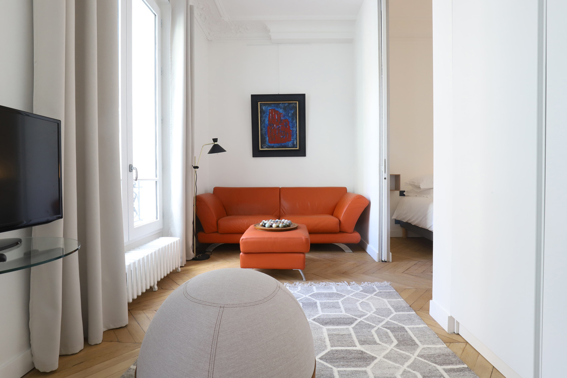 Furnished apartment for rent Paris Rue de Liège