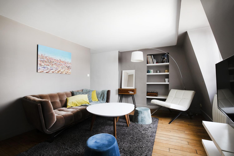 Apartment Paris rue Molière
