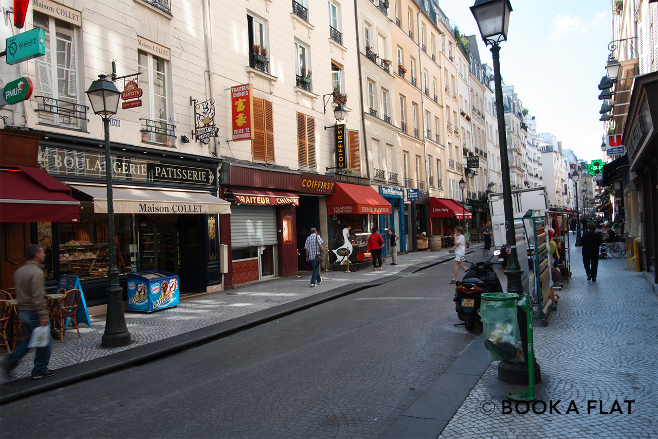 Apartment Paris Rue Saint Sauveur 12