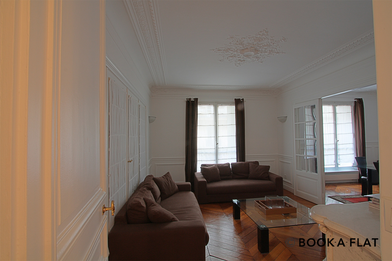 Paris Rue Barye Apartment for rent