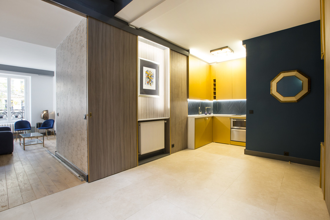 Apartment Paris Boulevard de Sebastopol 5
