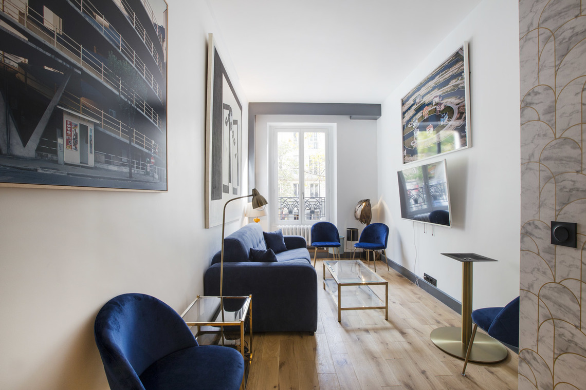 Apartment Paris Boulevard de Sebastopol 4
